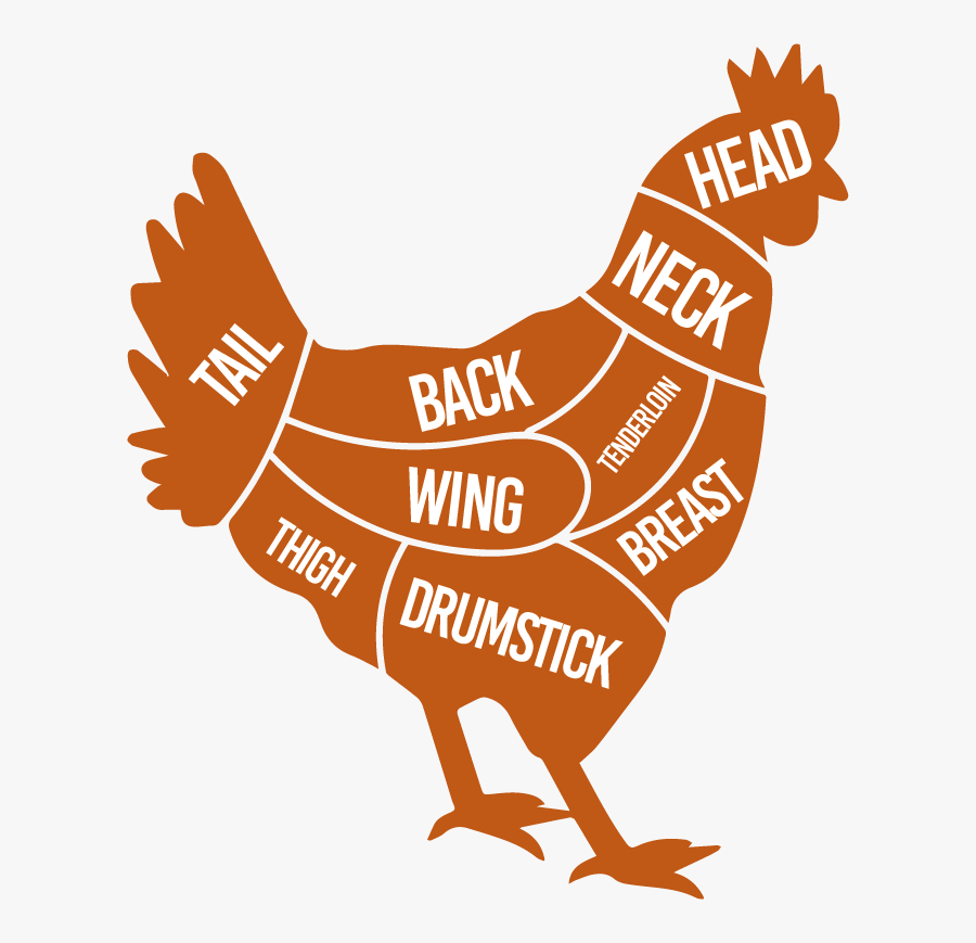 Silhouette Chicken Clipart Png, Transparent Clipart