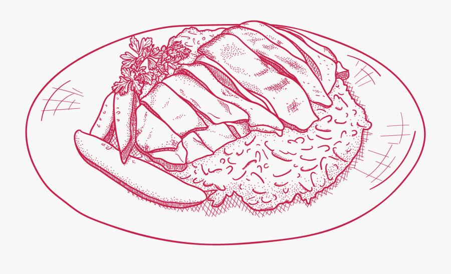 Iconic Singapore Food Illustration, Transparent Clipart
