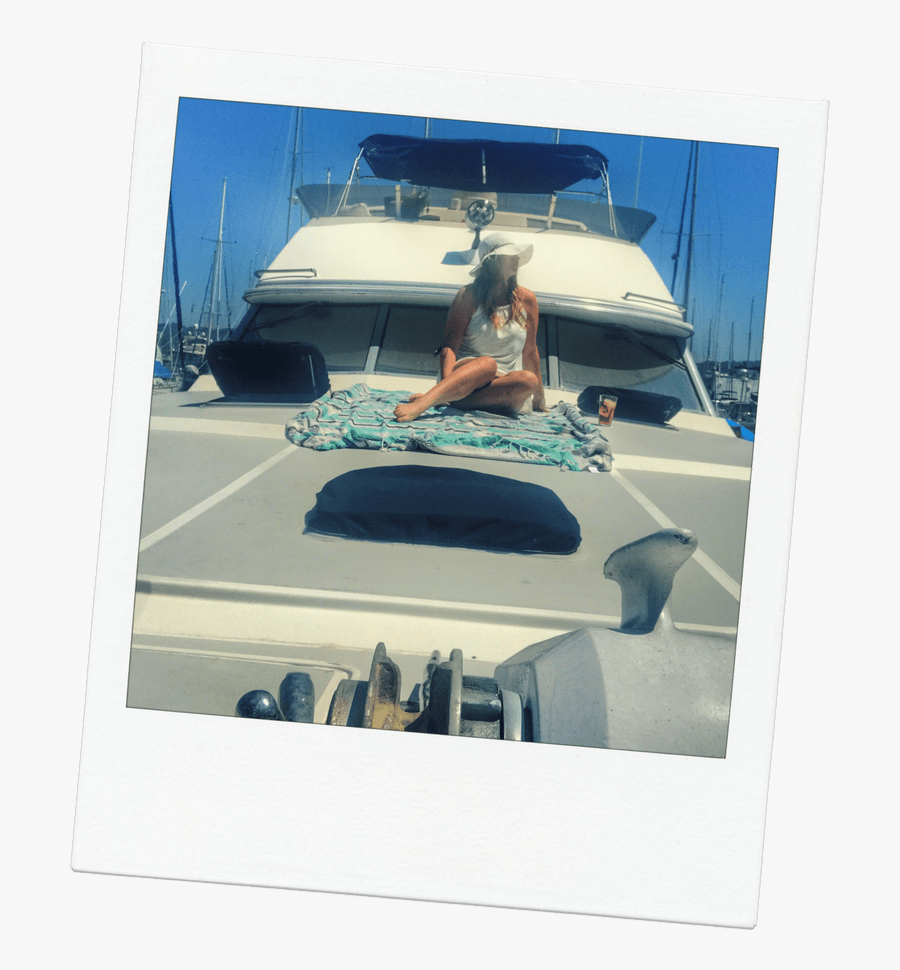 Clip Art Girls On Yacht - Luxury Yacht, Transparent Clipart