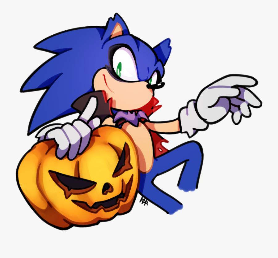 Transparent Halloween Vampire Clipart - Sonic Halloween, Transparent Clipart