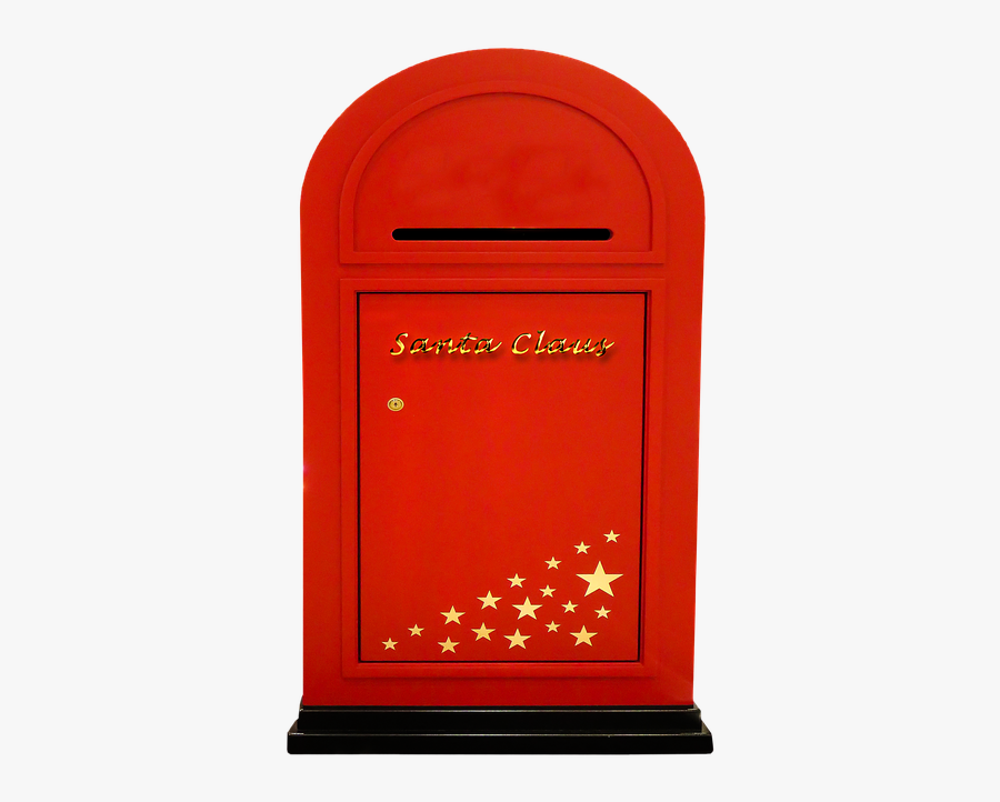 Mailbox Postbox Png - Christmas Post Box Png, Transparent Clipart