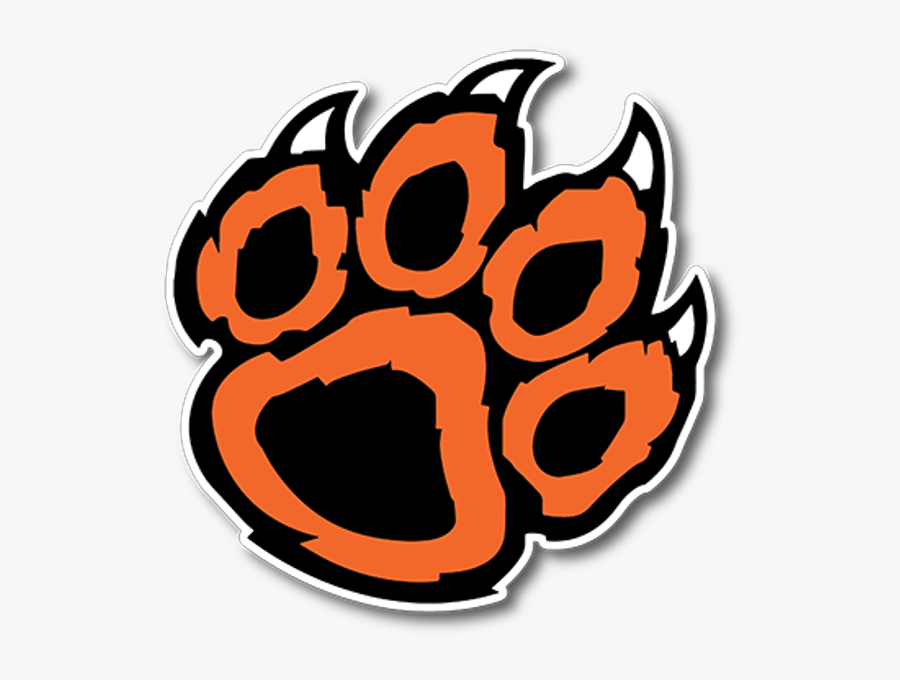 Transparent Wildcat Paw Png - Verona Wildcats Football 2018, Transparent Clipart