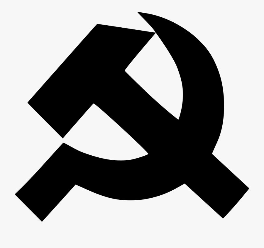 Transparent Communist Star Png - Green Hammer And Sickle, Transparent Clipart