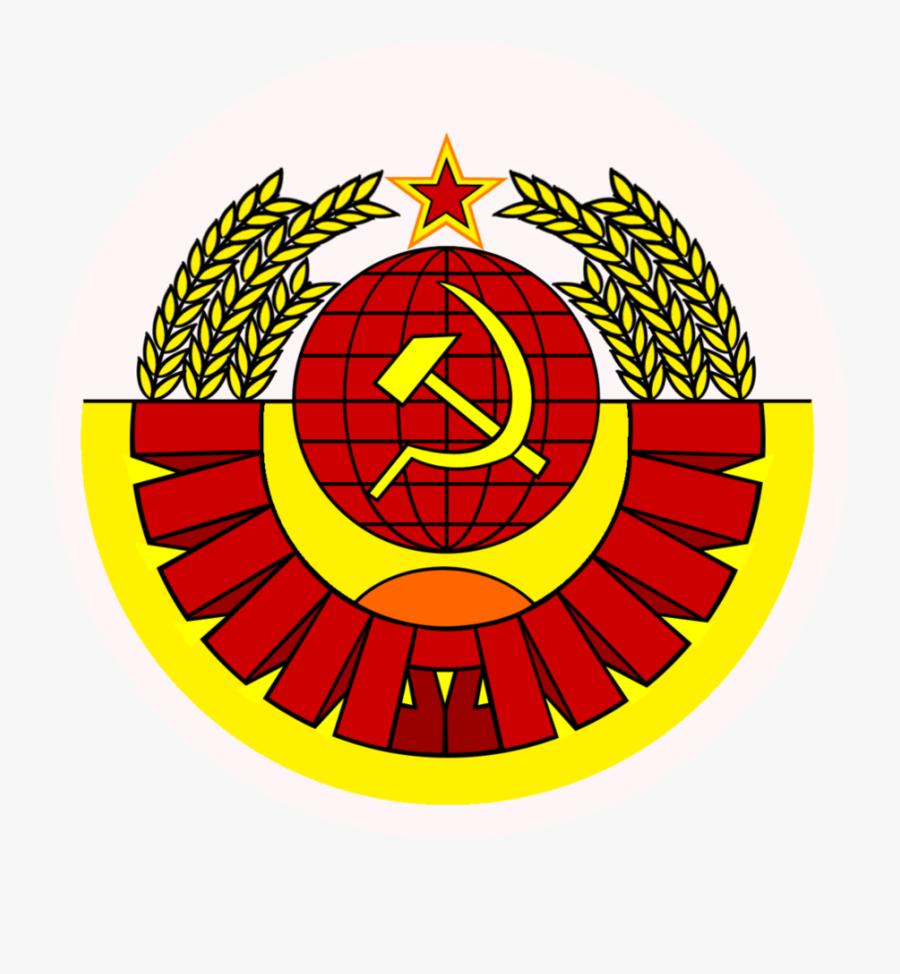 Transparent Soviet Png - Hammer And Sickle Modern, Transparent Clipart