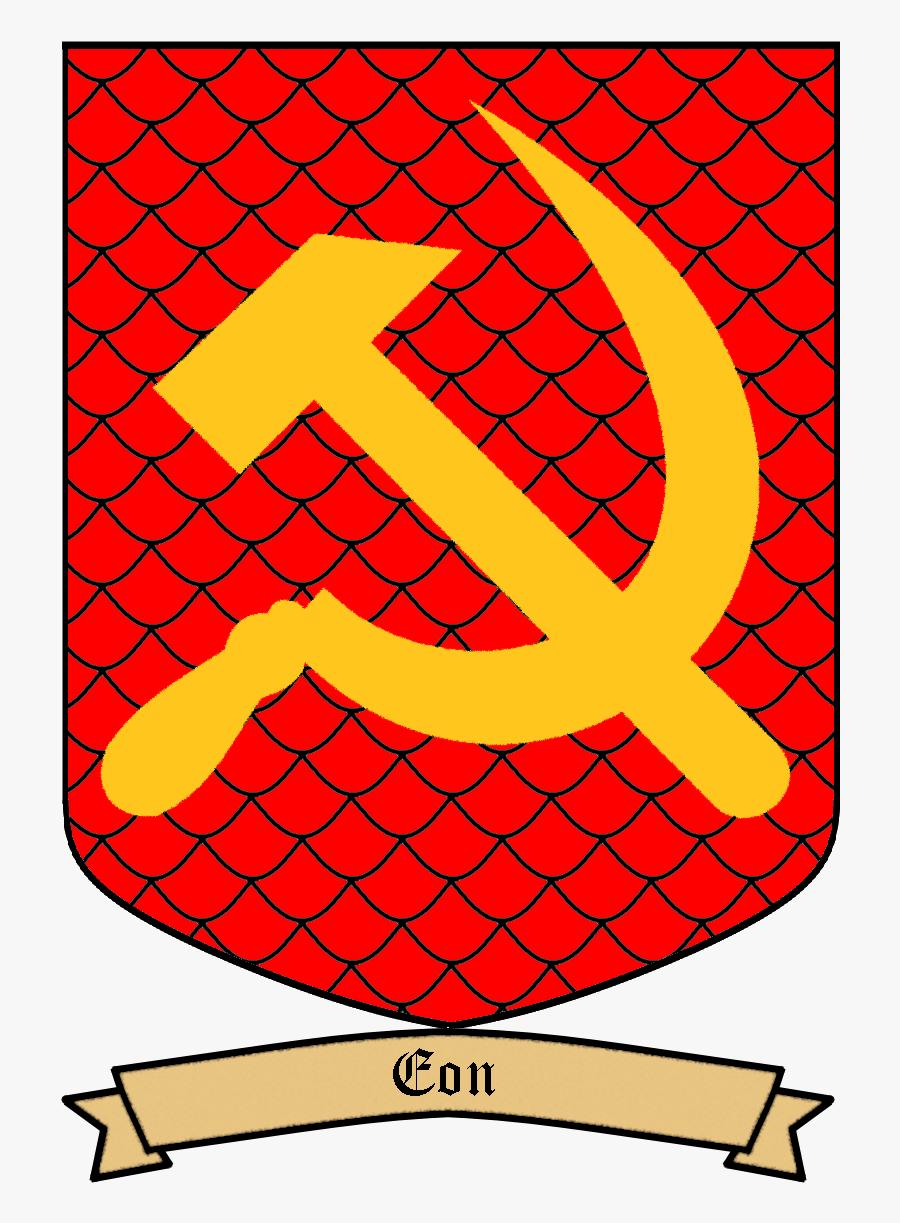 Communist Emblem, Transparent Clipart