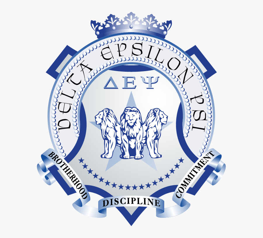 Delta Epsilon Psi Letters, Transparent Clipart
