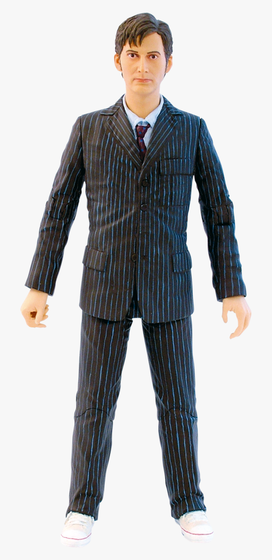 """Tenth Doctor In Brown Suit With Sonic Screwdriver 5"""" - Doctor Who 10th Doctor Figure, Transparent Clipart"""