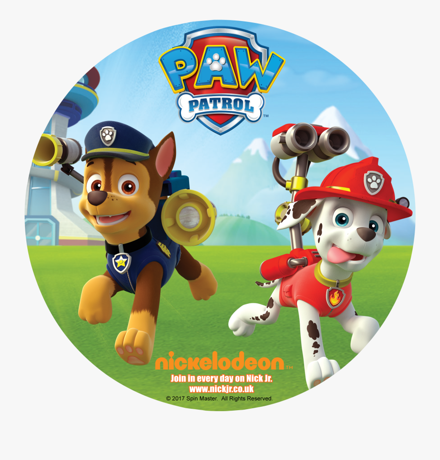 Chase Paw Patrol Png - Paw Patrol Chase Y Marshall Png, Transparent Clipart