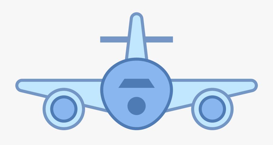 Aircraft Clipart Airplane Tail - Circle, Transparent Clipart