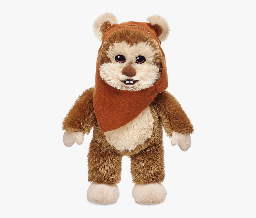 Ewok As A Build-ble Character Tapping Into The Star - Build A Bear Star Wars Ewok, Transparent Clipart