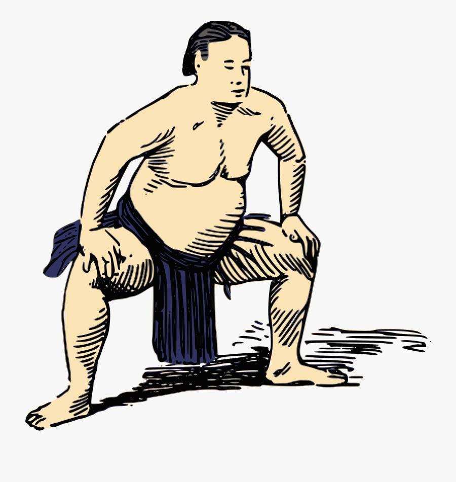 Sumo Japon Png, Transparent Clipart