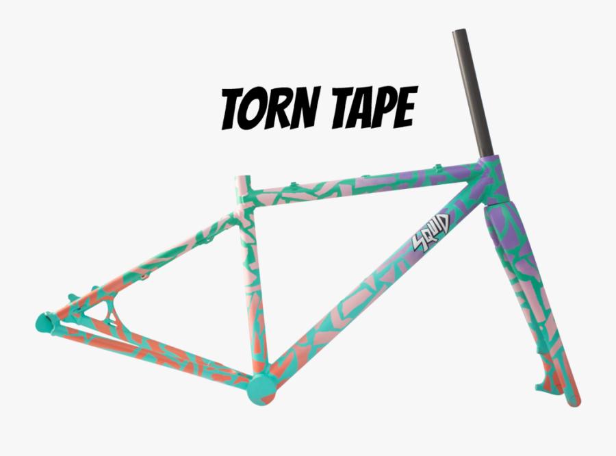 Spray Bike Torn Tape, Transparent Clipart
