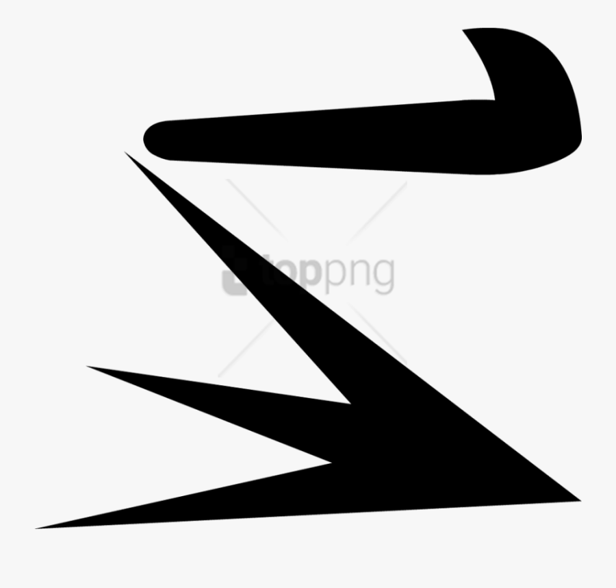 Line,font,black And White,arrow,symbol,clip - Bfdi Angry Closed Eyes, Transparent Clipart
