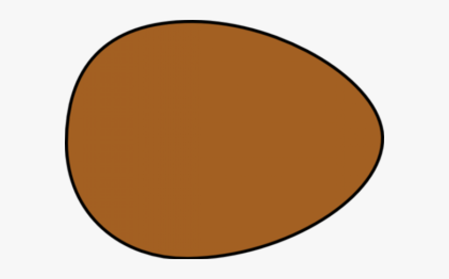 Egg Clipart Egg Shape - Brown Egg Clipart, Transparent Clipart