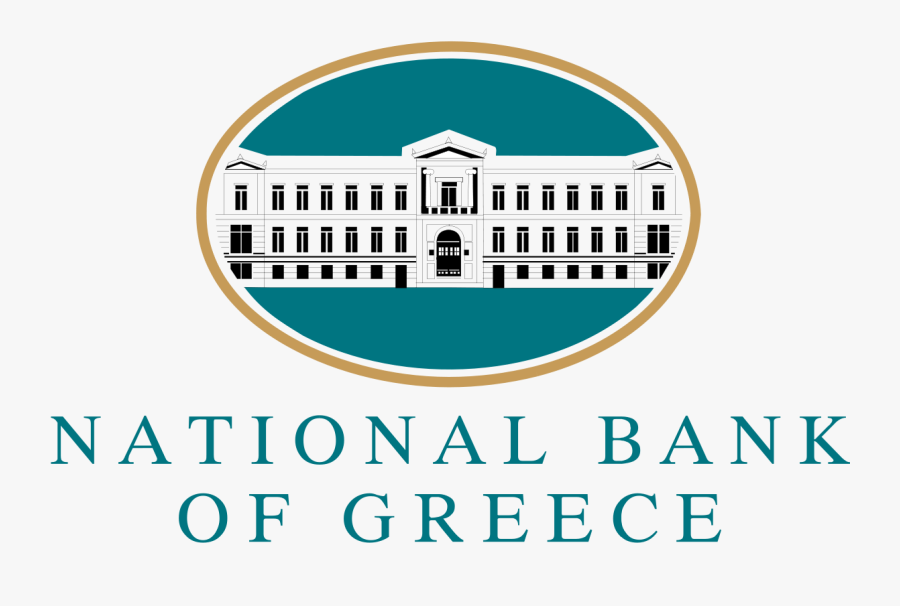 National Bank Of Greece Logo, Transparent Clipart