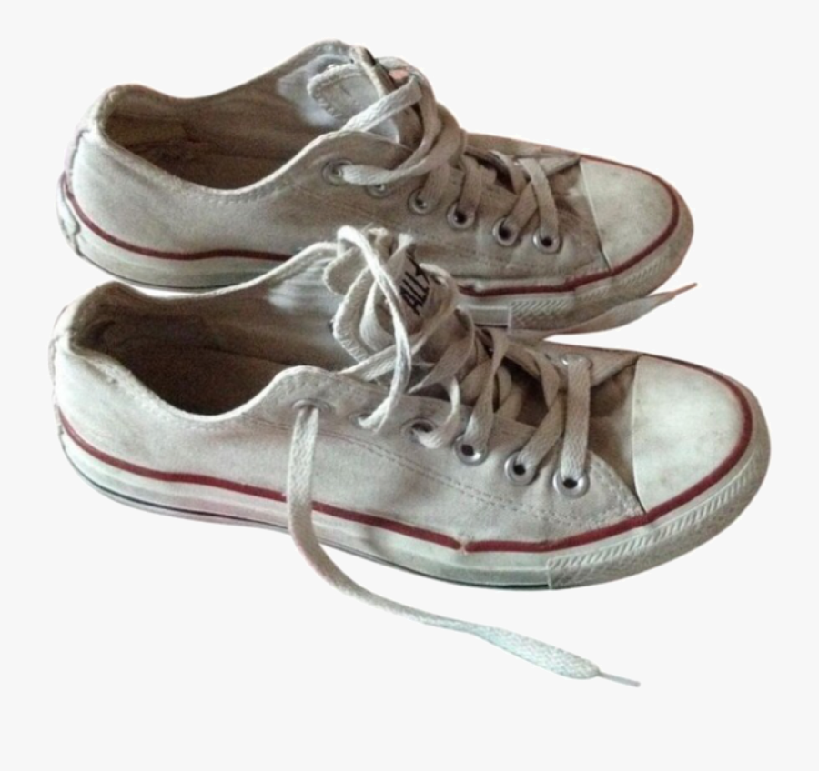 Designer Clothes, Shoes & Bags For Women - White Converse Png Aesthetic, Transparent Clipart