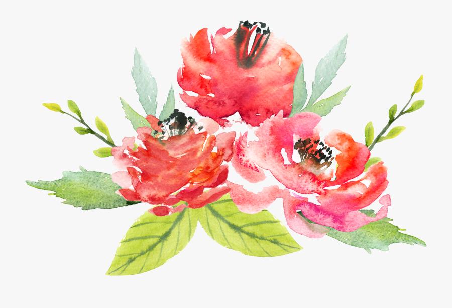 Floral Design Flower Watercolor Painting - Watercolor Flower Painting Png, Transparent Clipart