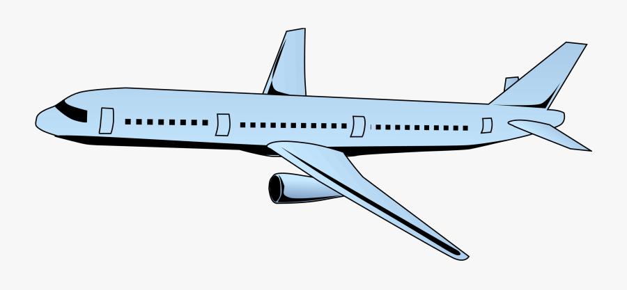 Narrow-body Aircraft, Transparent Clipart