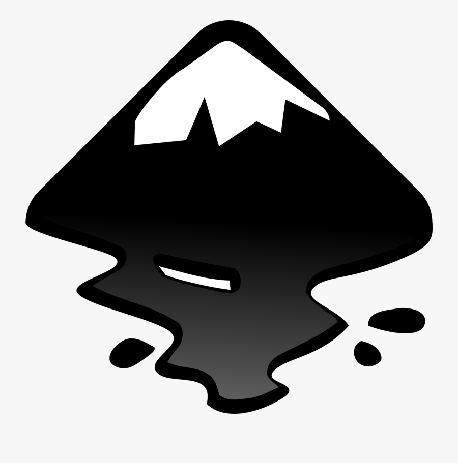 Inkscape Logo - Logo Inkscape, Transparent Clipart