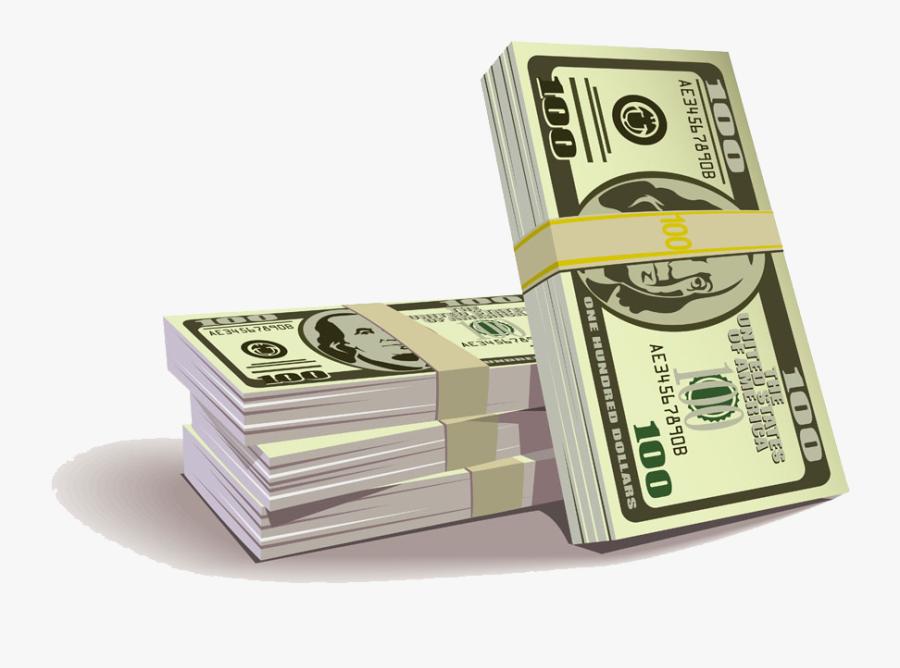 1000 Dollar Bill Png - Banknotes Clipart, Transparent Clipart