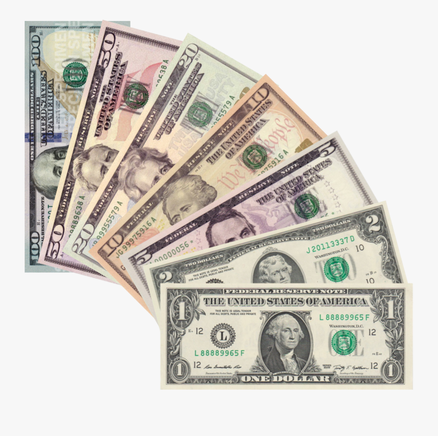 50 Dollar Bill Png - All My Friends Are Dead Money, Transparent Clipart