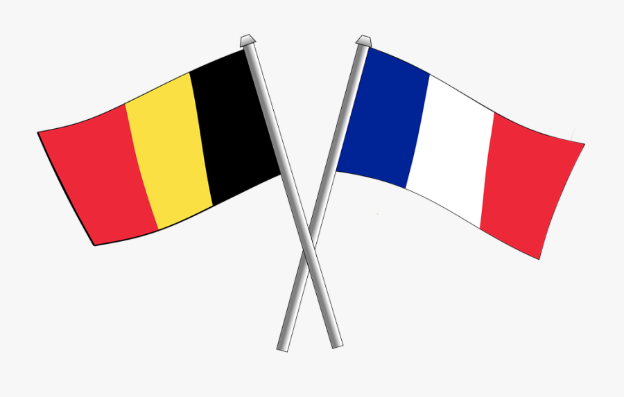 France Flag Png France And Belgium Flags Free Transparent Clipart Clipartkey
