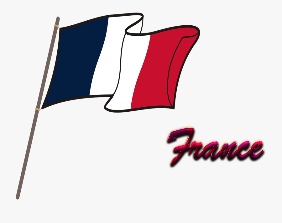 France Flag Png Background - Flag, Transparent Clipart