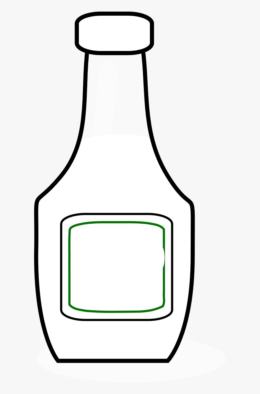 Bottle Ketchup Blank Free Picture - Gambar Botol Kosong Ilustrasi, Transparent Clipart