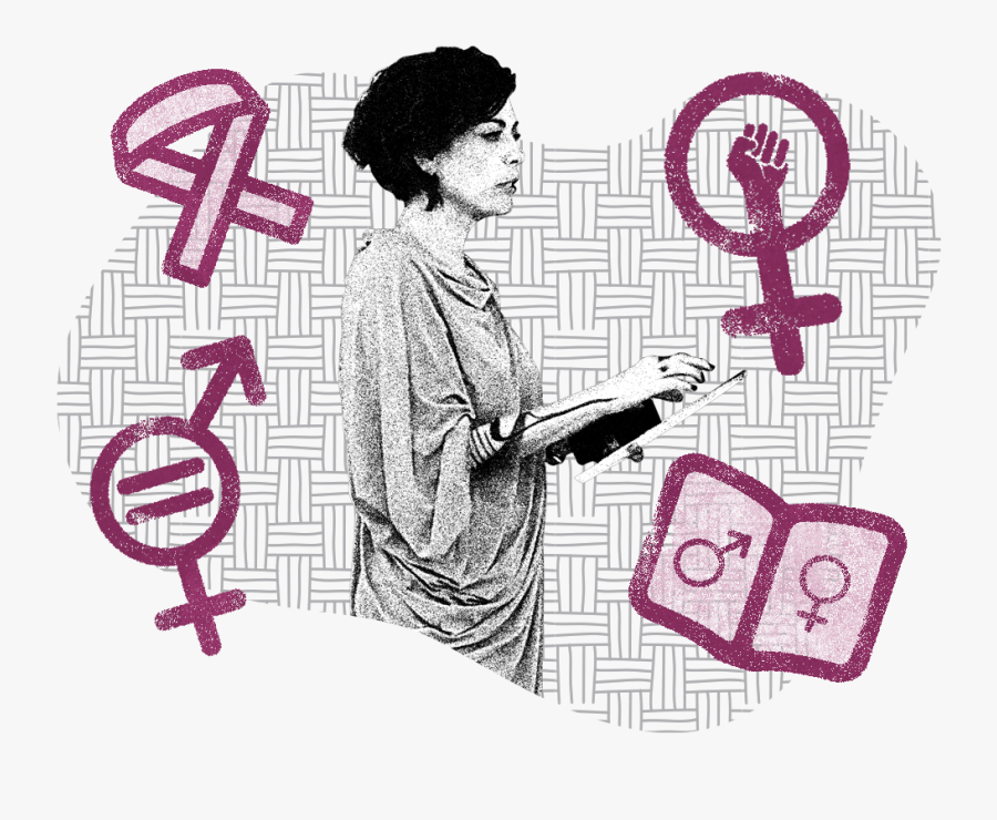 A Picture Of A Person Standing Up With Sexual Rights - Derecho A La Sexualidad Y Reproducción, Transparent Clipart