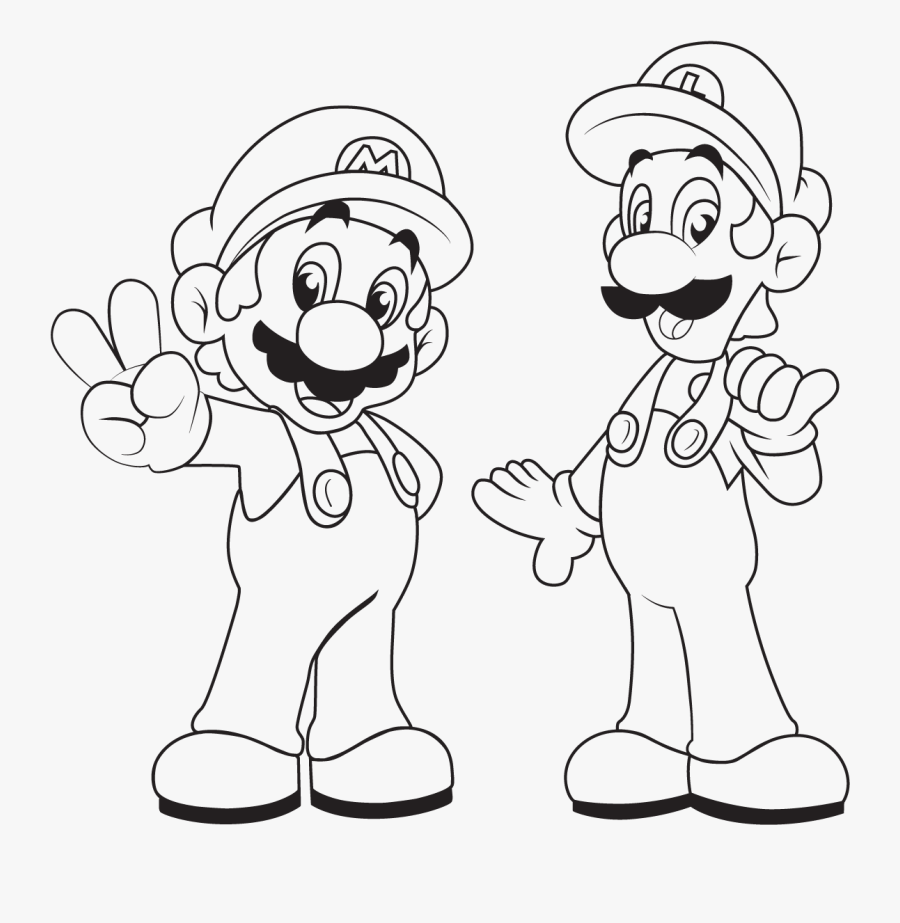 Smash Brothers Coloring Pages - Mario Brothers Coloring ...