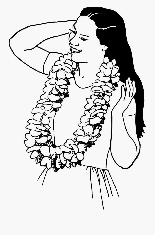 Lei Drawing At Getdrawings - Hawaiian Lei Drawing, Transparent Clipart