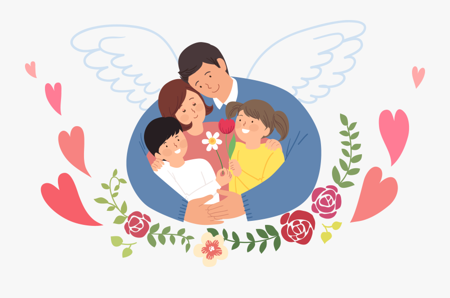 Transparent Family Love Png - Family That Love Each Other, Transparent Clipart