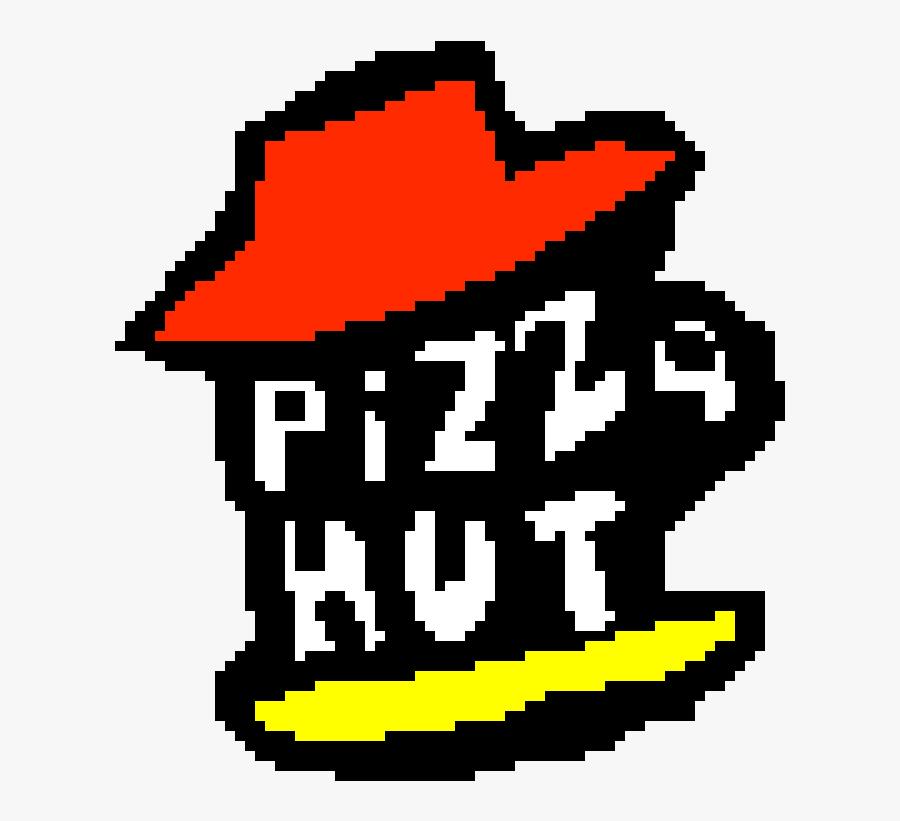 Pizza Hut Logo, Transparent Clipart
