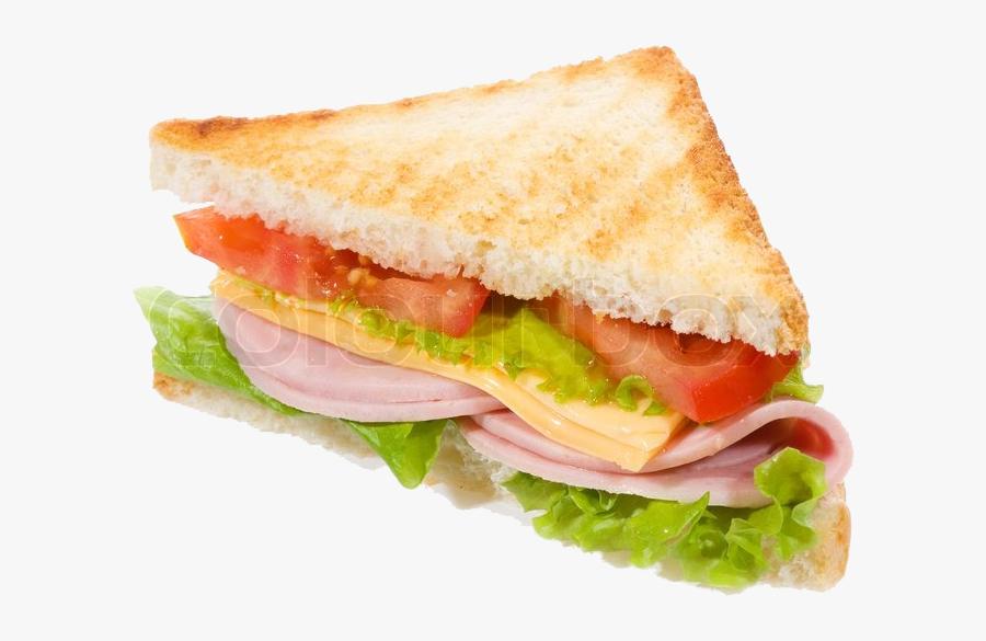 Food,ham And Cheese Sandwich,breakfast Sandwich,finger - Transparent Background Sandwich Png, Transparent Clipart