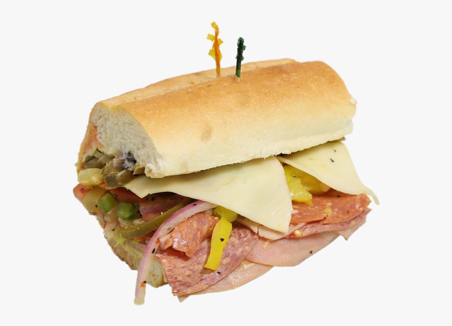 Sandwich Clipart Bologna Sandwich - Fast Food, Transparent Clipart