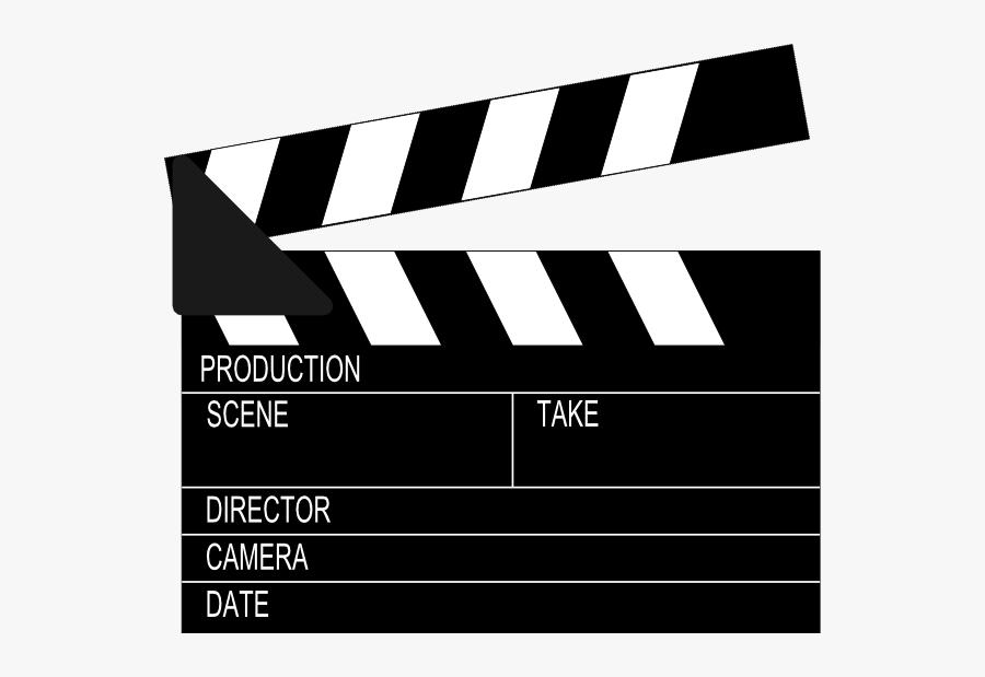 Film Festival - Movie Clapper Board, Transparent Clipart