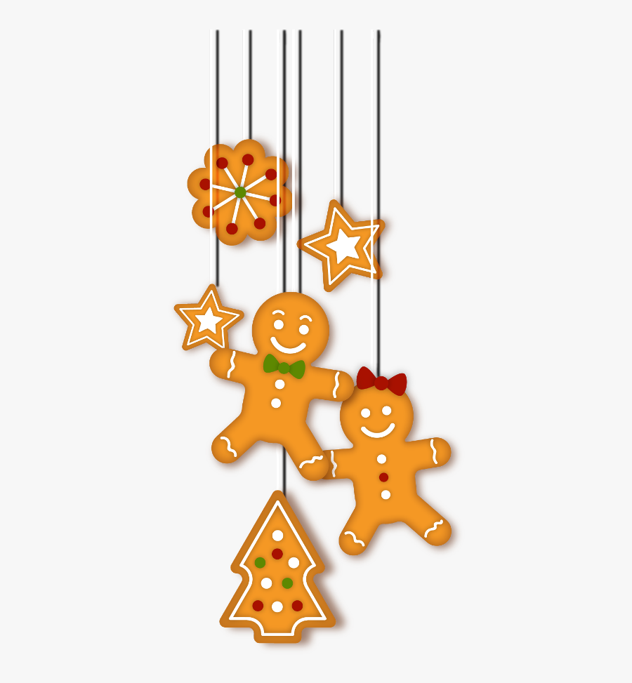 Gingerbread Freetoedit - Christmas Day, Transparent Clipart