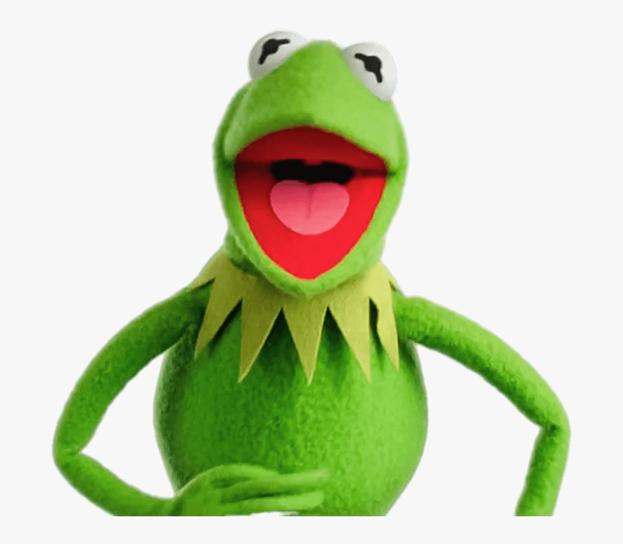 Kermit The Frog Laughing - Kermit The Frog Transparent, Transparent Clipart