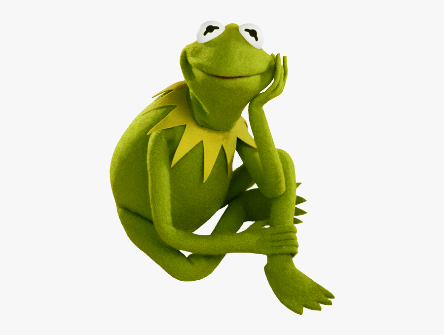 Muppets Studio Clip Art - Kermit The Frog Sitting, Transparent Clipart
