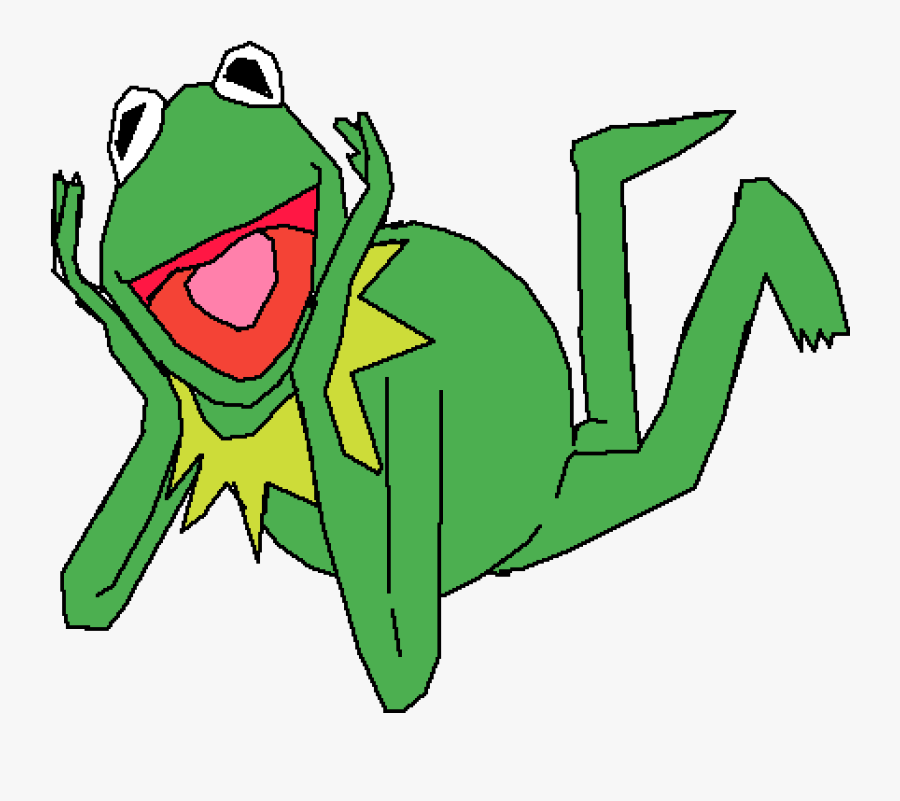 Transparent Kermit The Frog Clipart - セサミ ストリート カーミット イラスト, Transparent Clipart