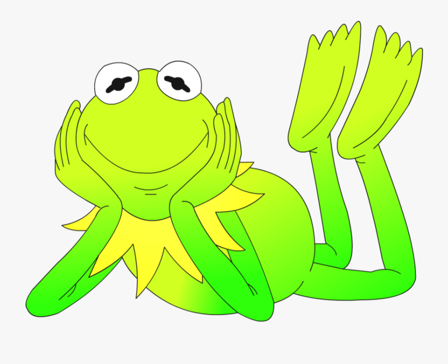 Kermit The Frog True Frog Tree Frog The Muppets - Kermit Cartoon Closed Mouth, Transparent Clipart