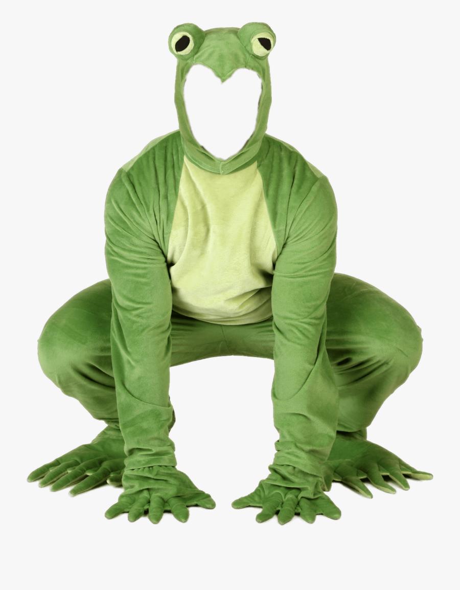 Kermit The Frog Transparent - Trajes De Rana Para Adulto, Transparent Clipart