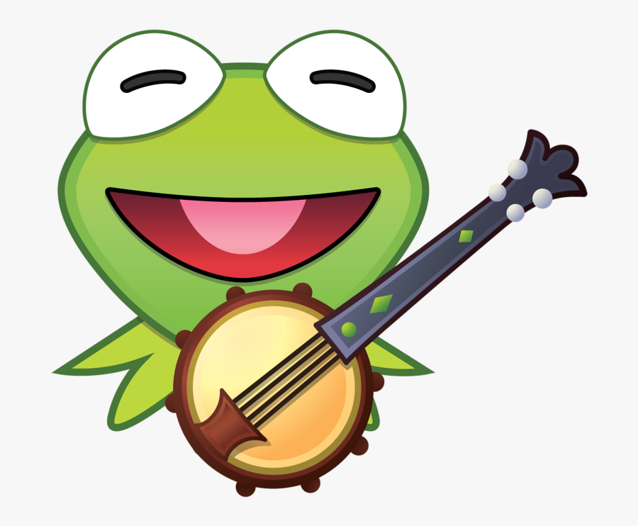 Kermit The Frog - Disney Emoji Blitz Muppets, Transparent Clipart