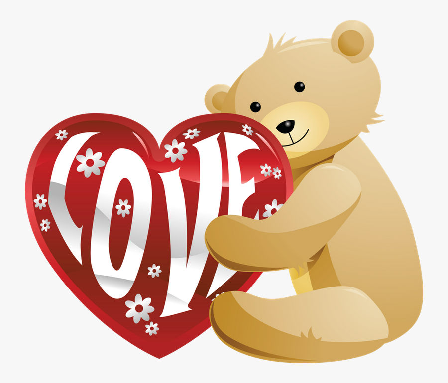 Good Morning Love Gif Teddy, Transparent Clipart