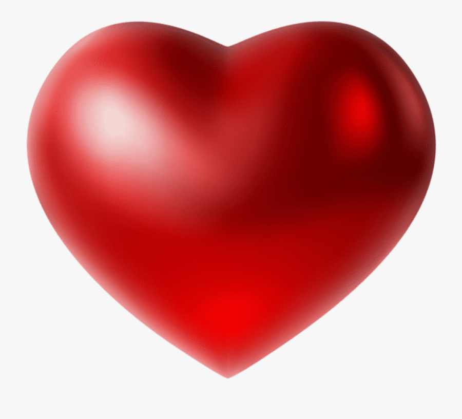 Transparent Heart Shaped Baseball Clipart - Heart, Transparent Clipart