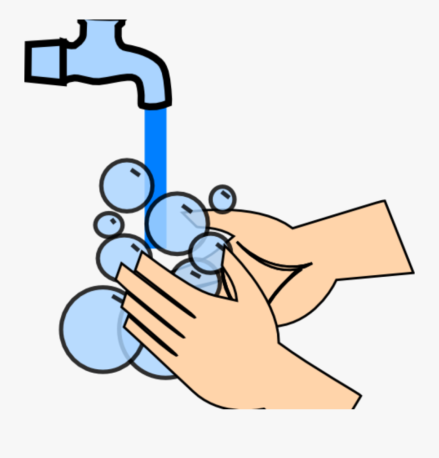 Hand Wash Clip Art Hand Washing Clip Art At Clker Vector - Washing Hands Clipart, Transparent Clipart