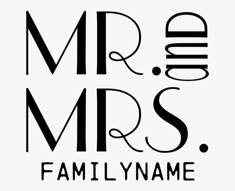 Favorite - Personalized Mr - Mrs - Yard Sign, Transparent Clipart