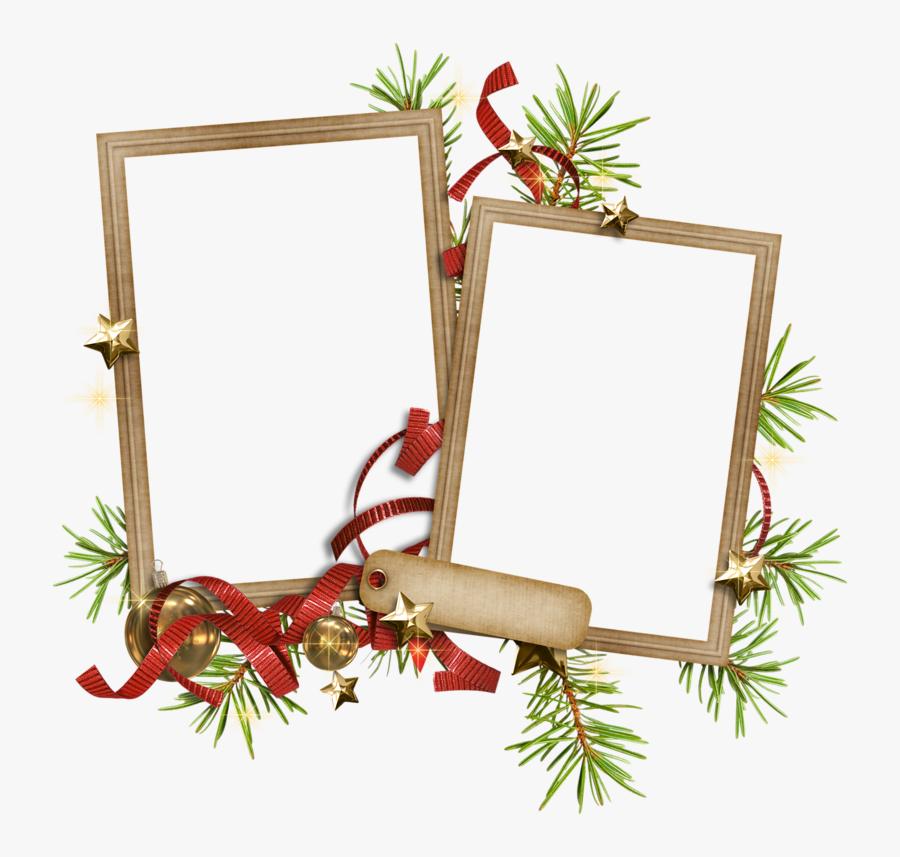 Cadres Et Bordures - Christmas Day, Transparent Clipart