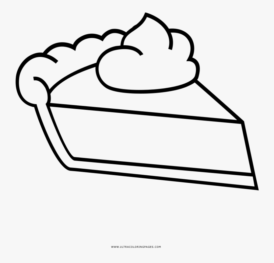 Pumpkin Pie Coloring Page – KinderArt   864x900