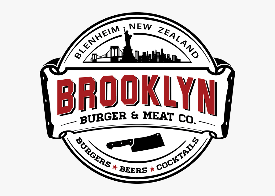 Brooklyn Burger And Meat Co In Blenheim, Marlborough,, Transparent Clipart